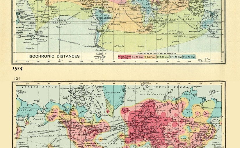 The Evolution Of Travel Time Over 100 Years: Isochronic London Travel Times In 1914 and 2016